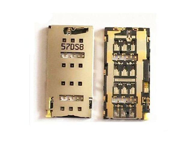 Suport cu cititor SIM Sony E6533, E6553, Xperia Z3 Plus, Xperia Z4 original