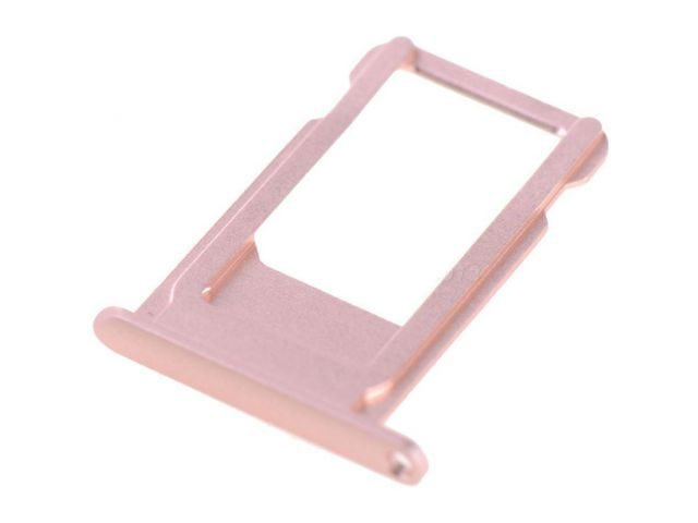 Suport SIM Apple iPhone 6S auriu - rose ORIGINAL