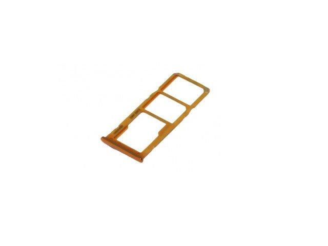 Suport sim si card Samsung SM-A505F Galaxy A50 auriu ORIGINAL