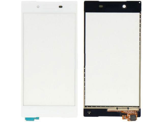 Touchscreen Sony Xperia Z5, E6603, E6633, E6653, E6683 Dual alb ORIGINAL