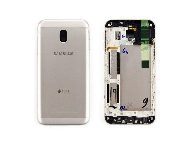 Capac spate Samsung SM-J330F Galaxy J3 2017 auriu Original