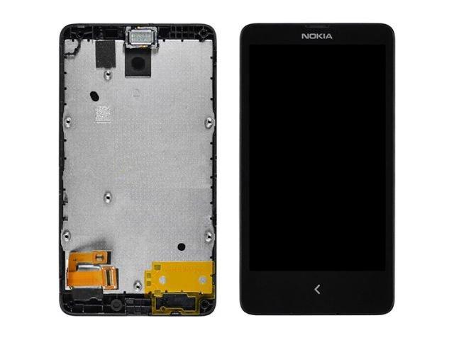 Display cu touchscreen si rama Nokia X, A110 original