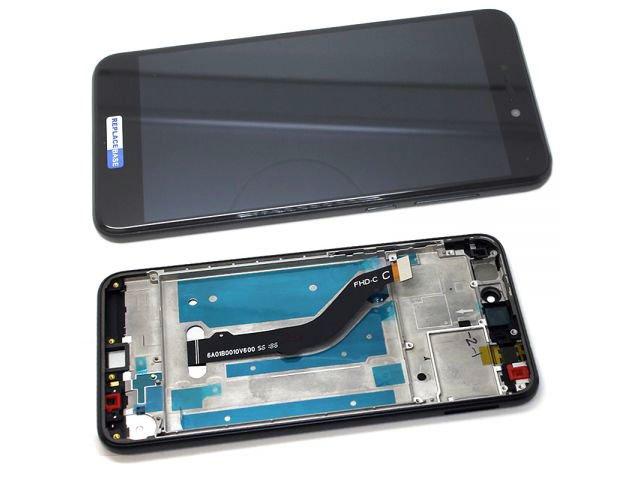 Display cu touchscreen si rama Huawei P8 lite 2017, P9 Lite (2017), Honor 8 Lite, Nova Lite, GR3 (2017) original