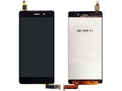 Display cu touchscreen Huawei P8 Lite ALE-L04 negru, alb