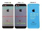Inlocuire schimbare geam sticla iPhone 5, 5C, 5S, 5SE