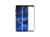 geam protectie 015 mm touchscreen samsung sm-g950f galaxy s8 5d curved and full cover negru - transparetent bulk